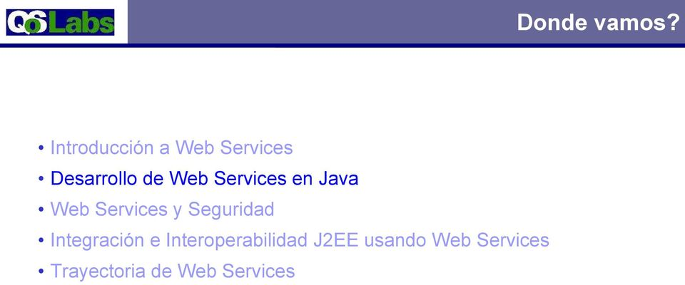 Services en Java Web Services y Seguridad