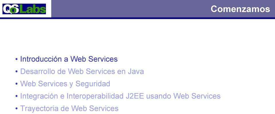 Services y Seguridad Integración e