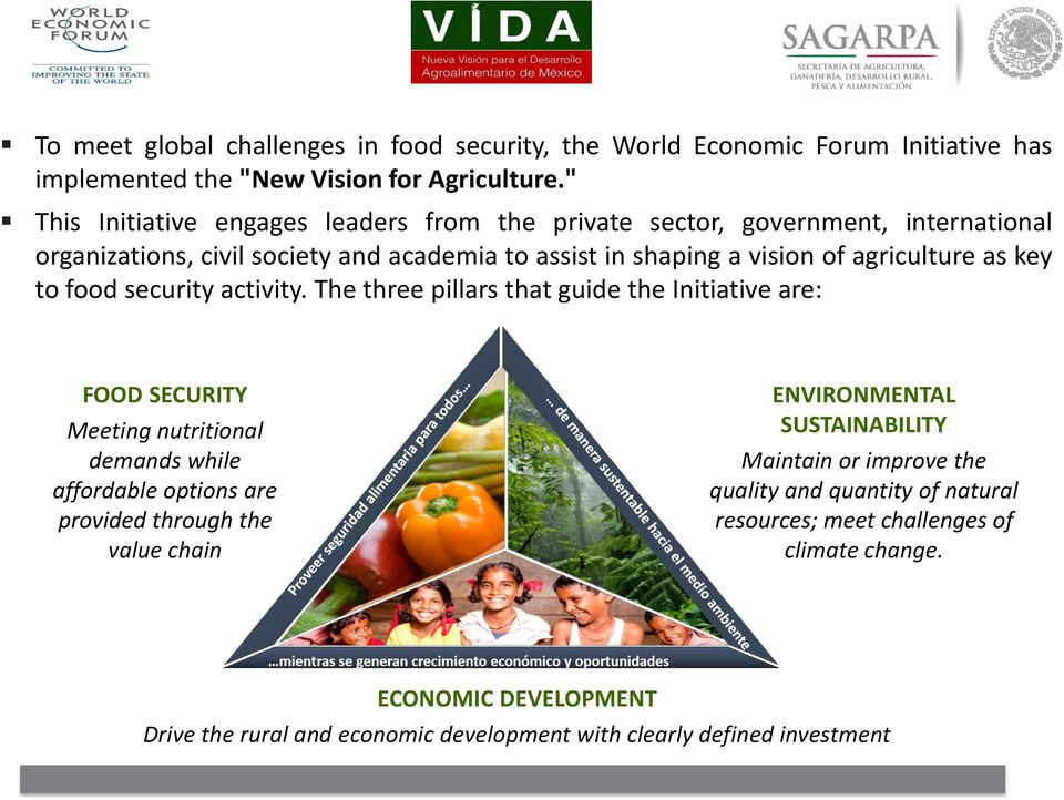 key to food security activity.