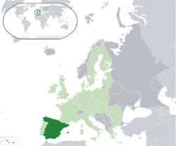 Its territory is very wide; most of it is placed in a peninsula, including two archipels: Islas Baleares (Balear Islands), placed