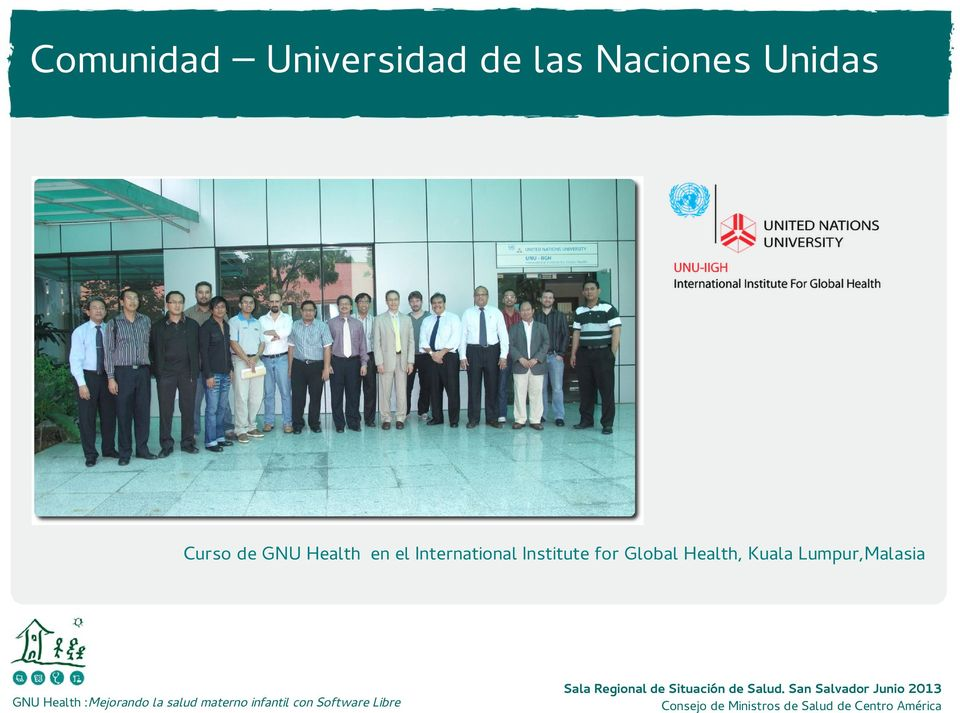 Health en el International