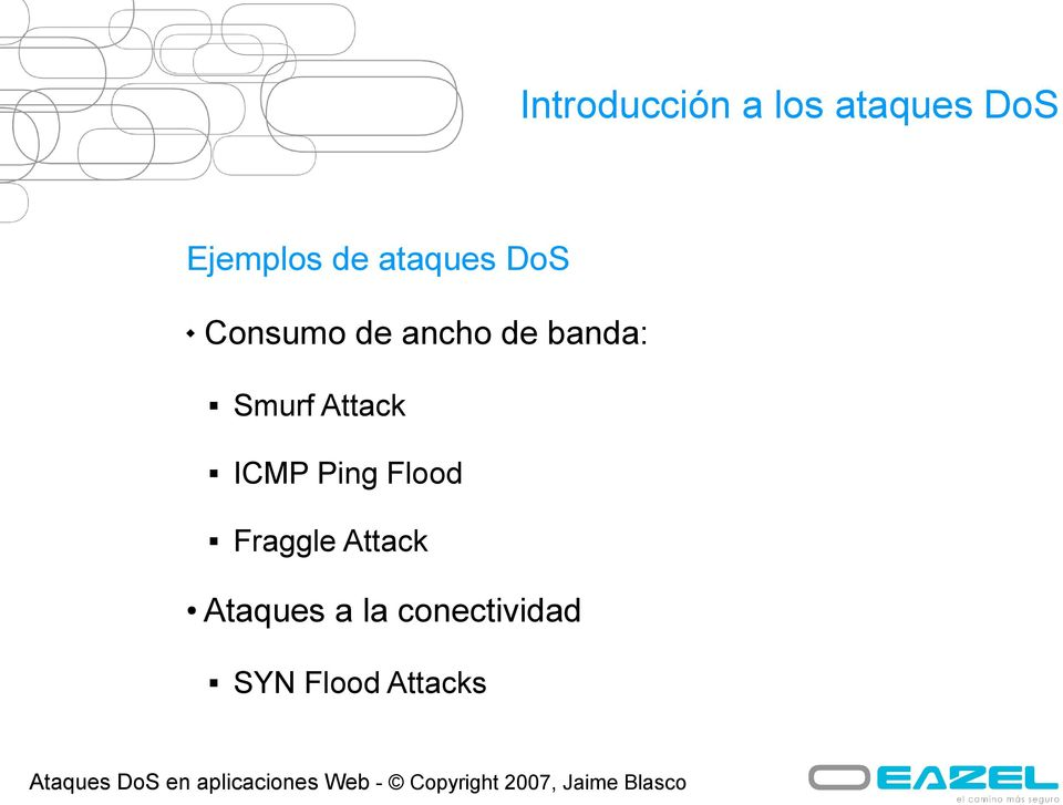 Smurf Attack ICMP Ping Flood Fraggle