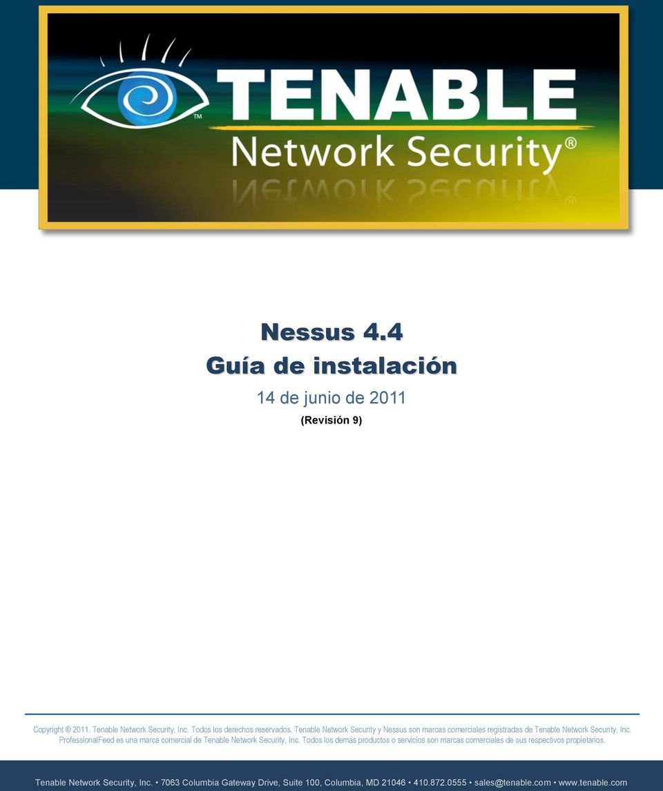 ProfessionalFeed es una marca comercial de Tenable Network Security, Inc.