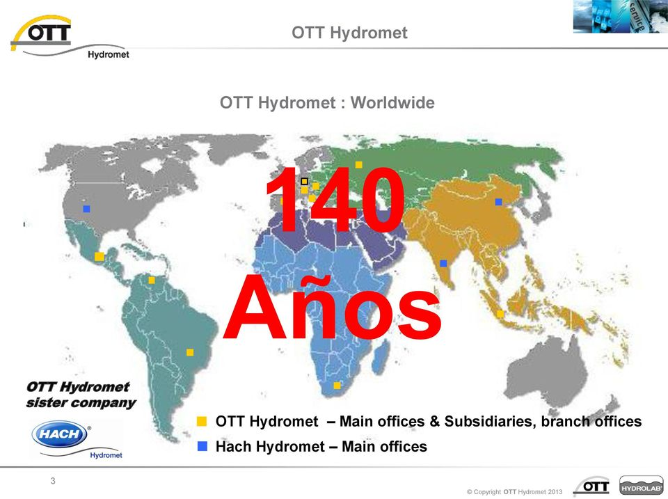 OTT Hydromet Main offices &
