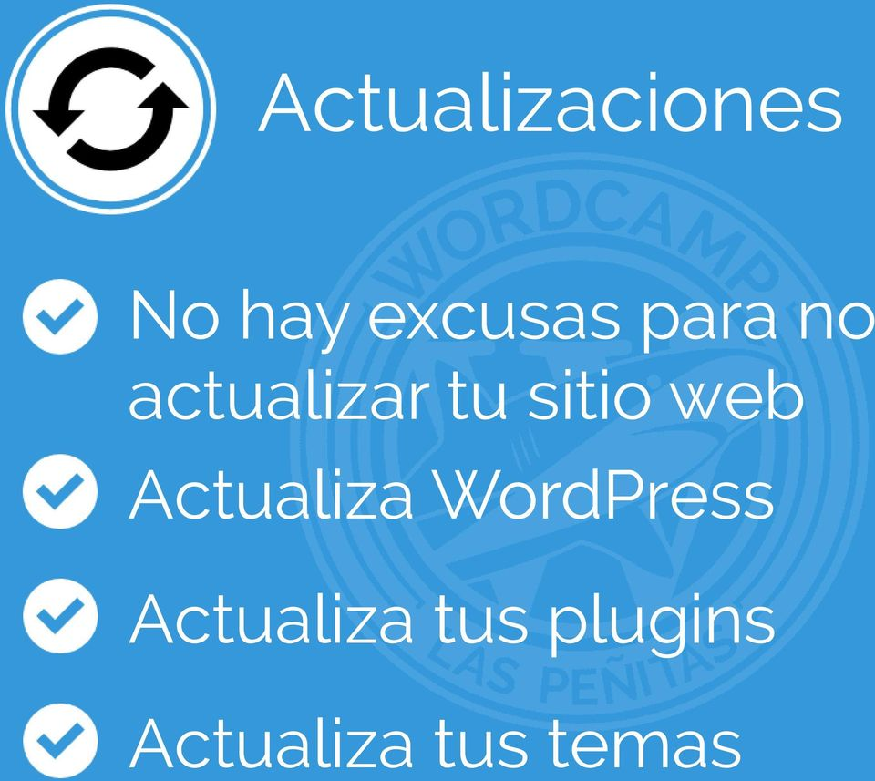 web Actualiza WordPress