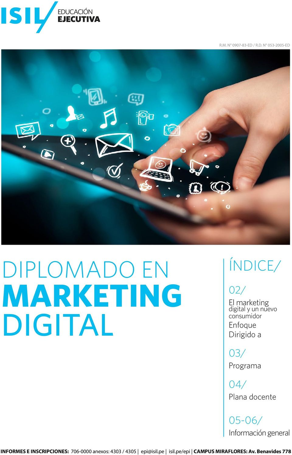 N 053-2005-ED DIPLOMADO EN MARKETING DIGITAL