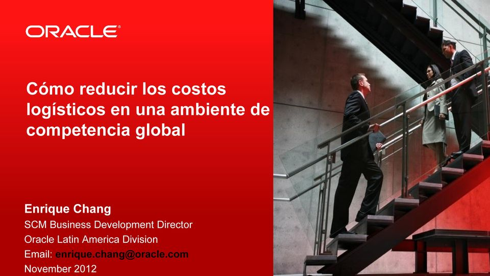 Business Development Director Oracle Latin
