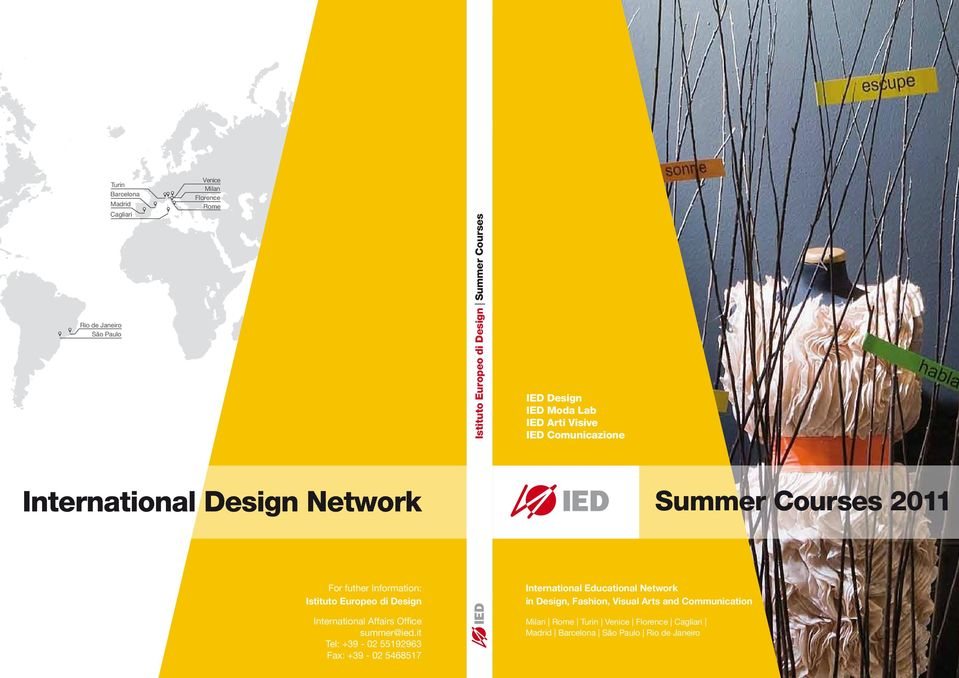 Europeo di Design summer@ied.
