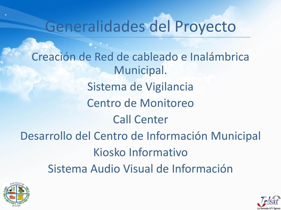 Sistema de Vigilancia Centro de Monitoreo Call Center