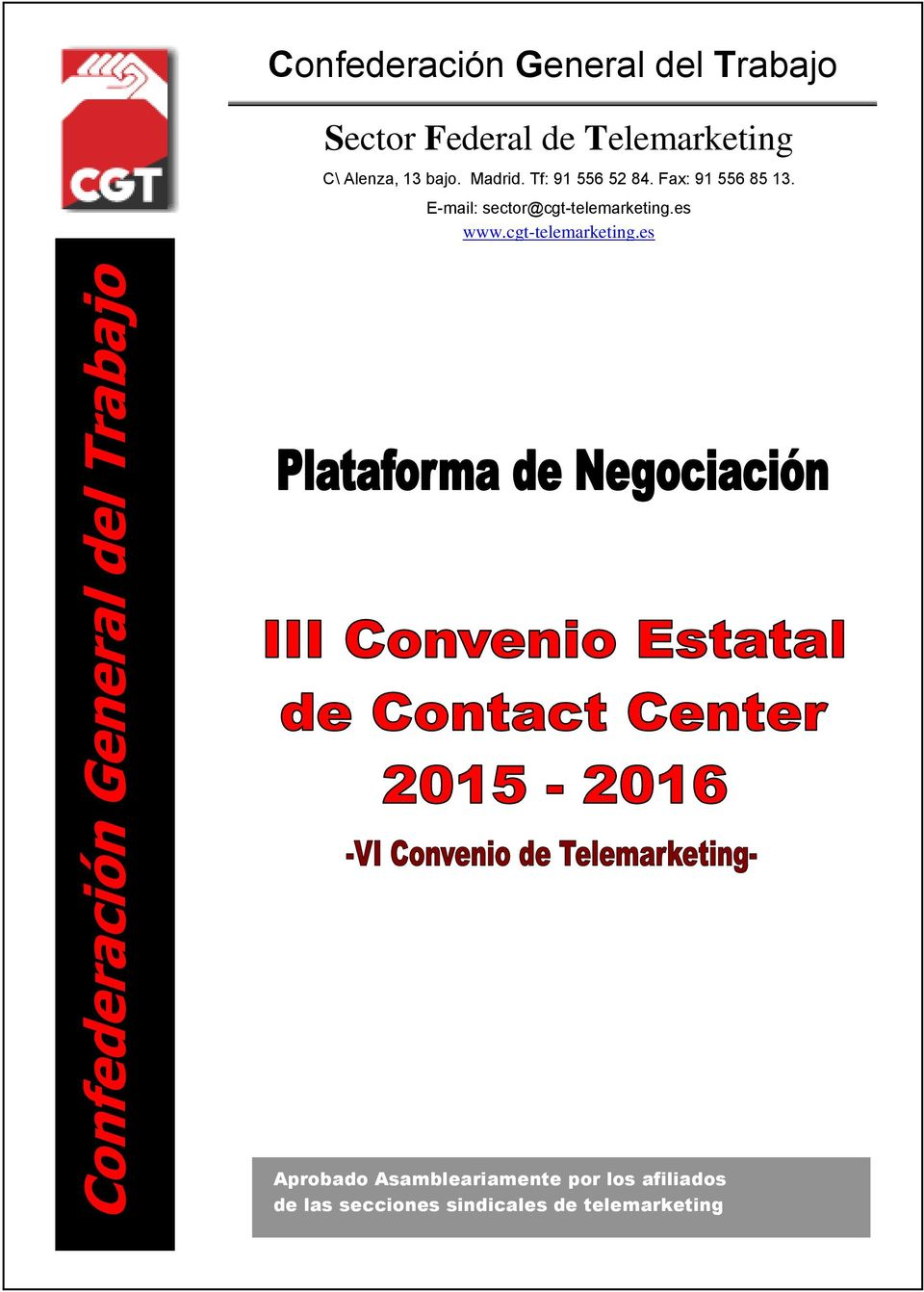 es www.cgt-telemarketing.