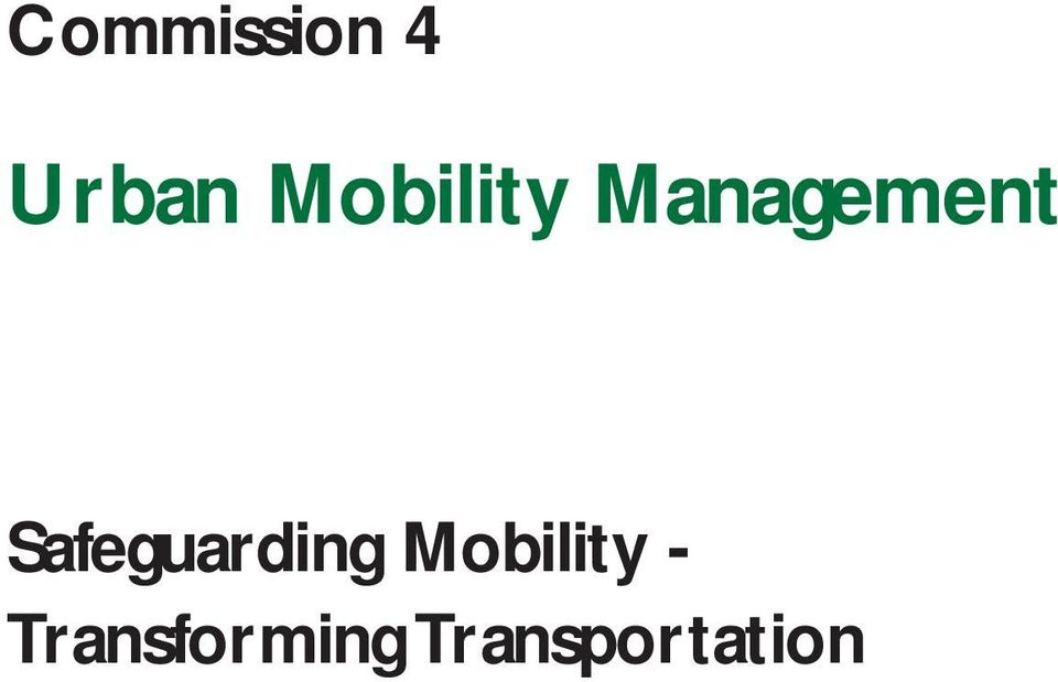 Safeguarding Mobility