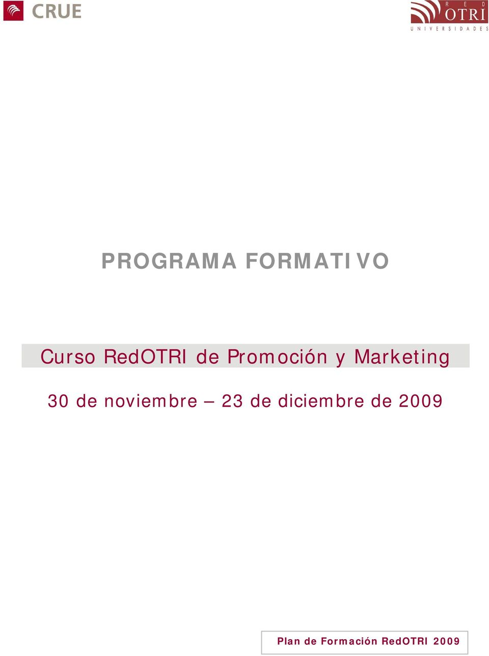 Marketing 30 de noviembre 23 de
