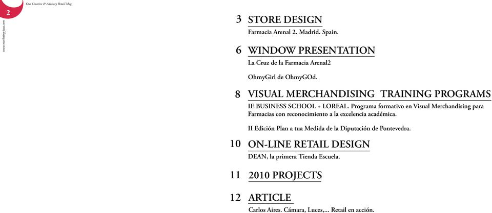 VISUAL MERCHANDISING TRAINING PROGRAMS IE BUSINESS SCHOOL + LOREAL.