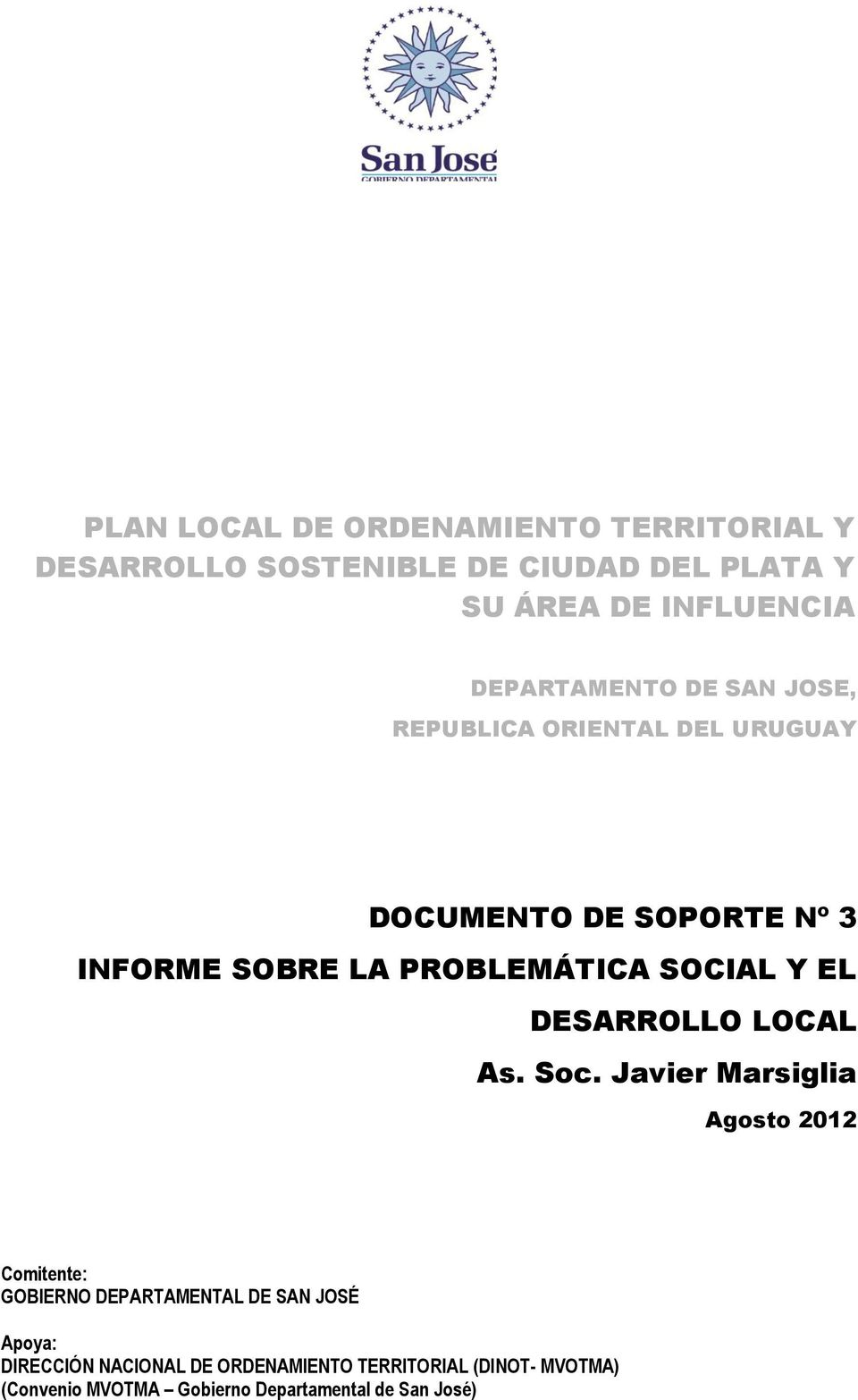 SOCIAL Y EL DESARROLLO LOCAL As. Soc.