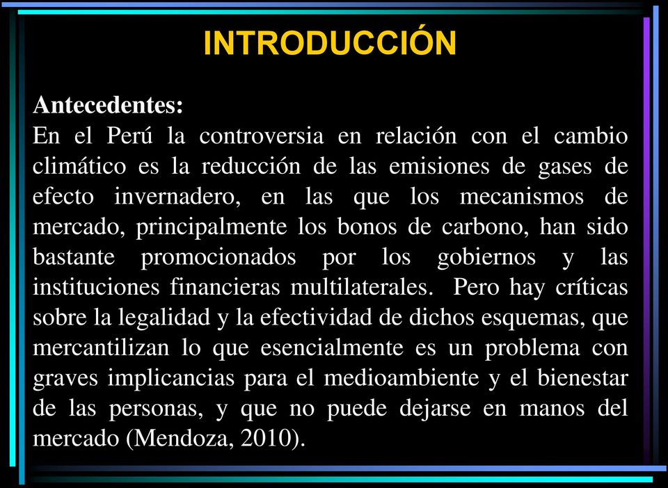 instituciones financieras multilaterales.