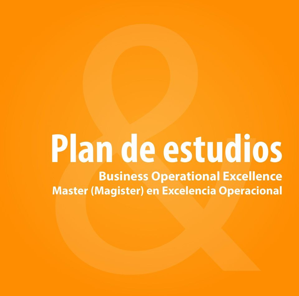 Excelencia Operacional PMM University -