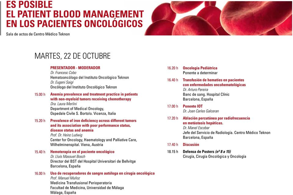 Laura Merlini Department of Medical Oncology, Ospedale Civile S. Bortolo.