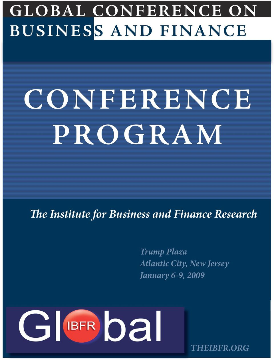 Finance Research The In stitute for Business and Fi n ance