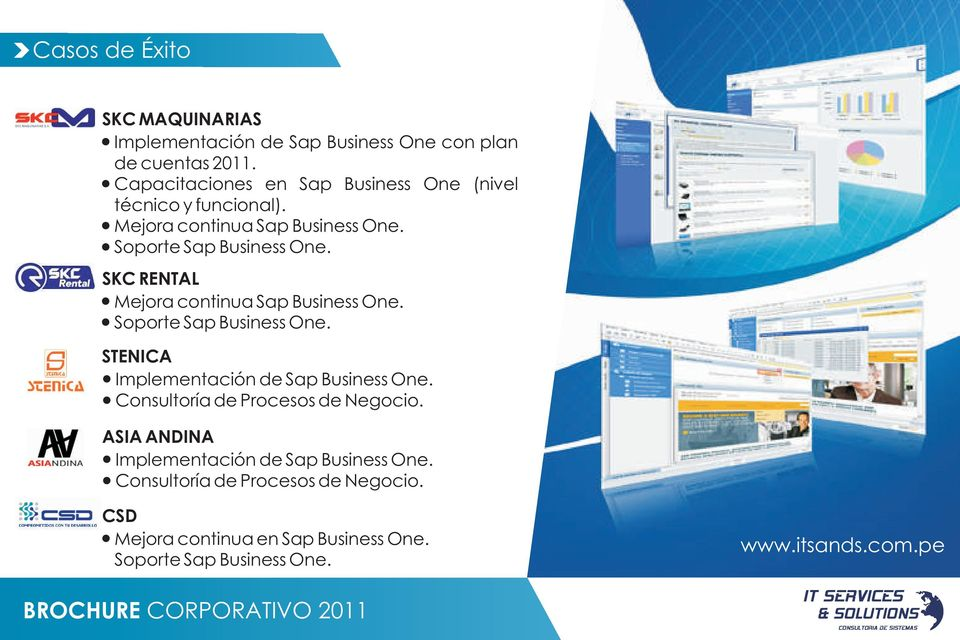 SKC RENTAL Mejora continua Sap Business One. Soporte Sap Business One. STENICA Implementación de Sap Business One.
