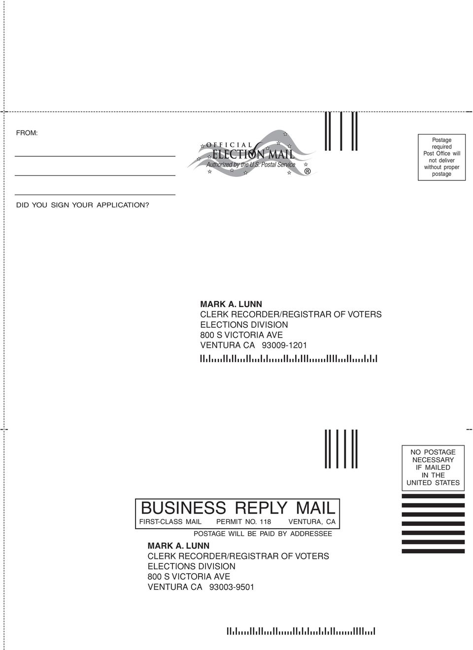 POSTAGE NECESSARY IF MAILED IN THE UNITED STATES BUSINESS REPLY MAIL FIRST-CLASS MAIL PERMIT NO.