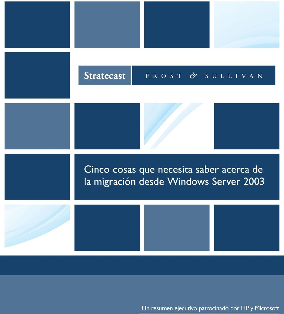 Windows Server 2003 Un resumen