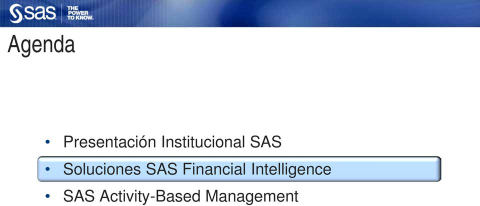 Soluciones SAS Financial