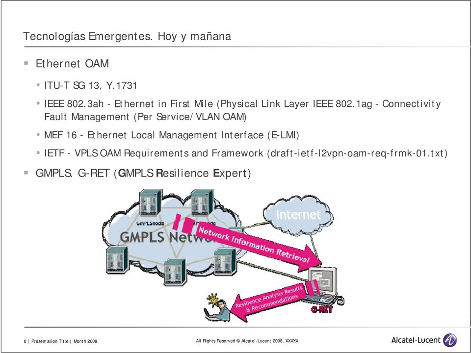 1ag - Connectivity Fault Management (Per Service/VLAN OAM) MEF 16 - Ethernet Local Management Interface (E-LMI)