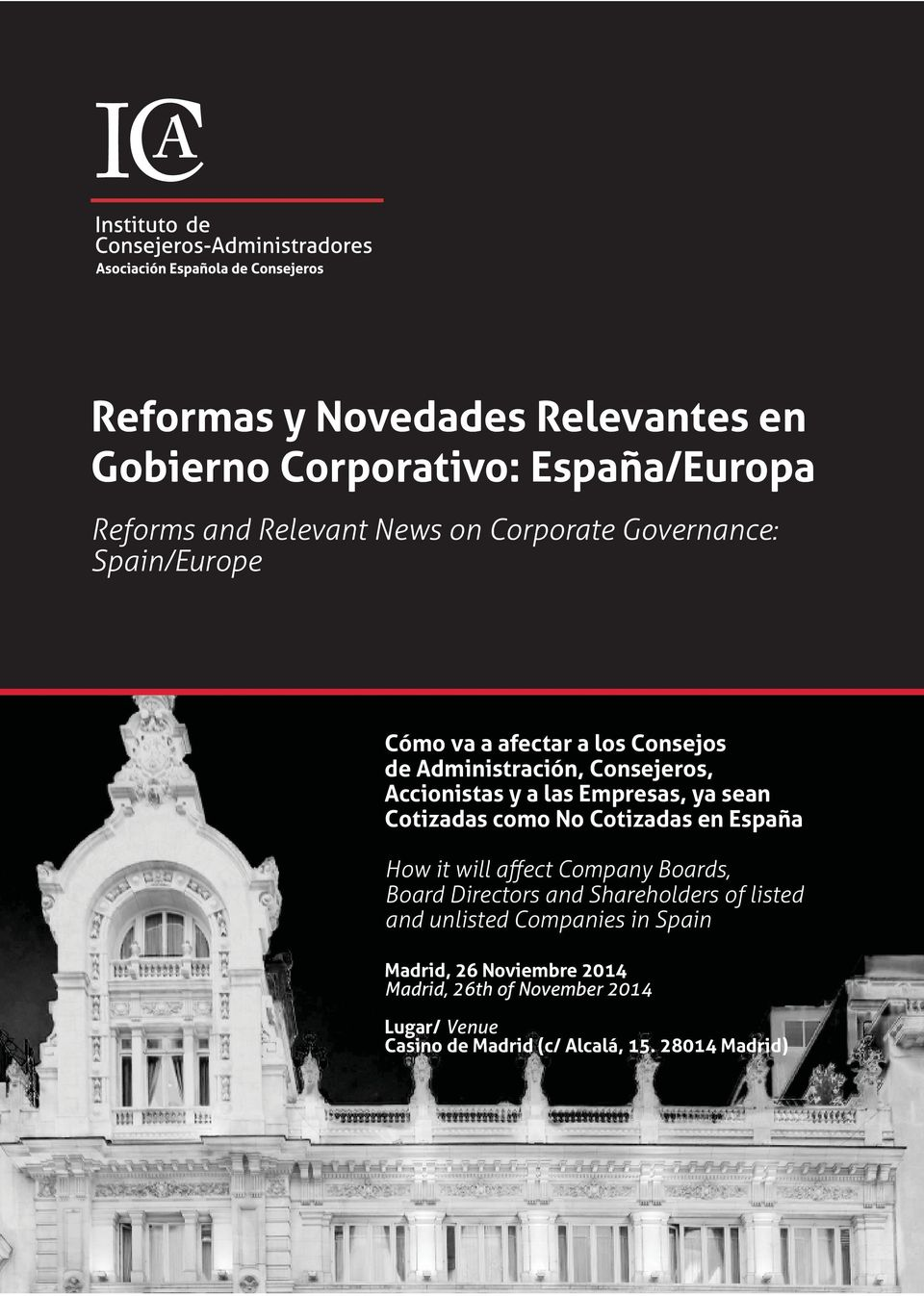 como No Cotizadas en España How it will affect Company Boards, Board Directors and Shareholders of listed and unlisted