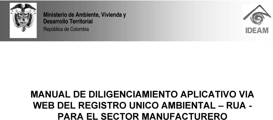 REGISTRO UNICO AMBIENTAL