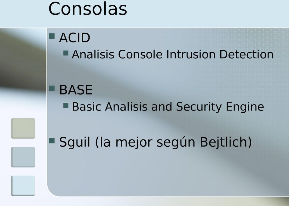 Analisis and Security Engine