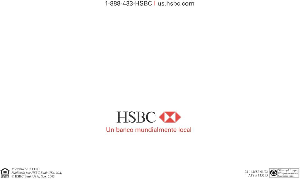 por HSBC Bank USA,