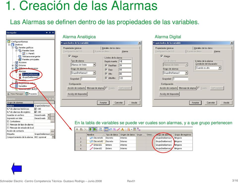 Alarma Analógica Alarma Digital -Importante: Instalar PatchC.