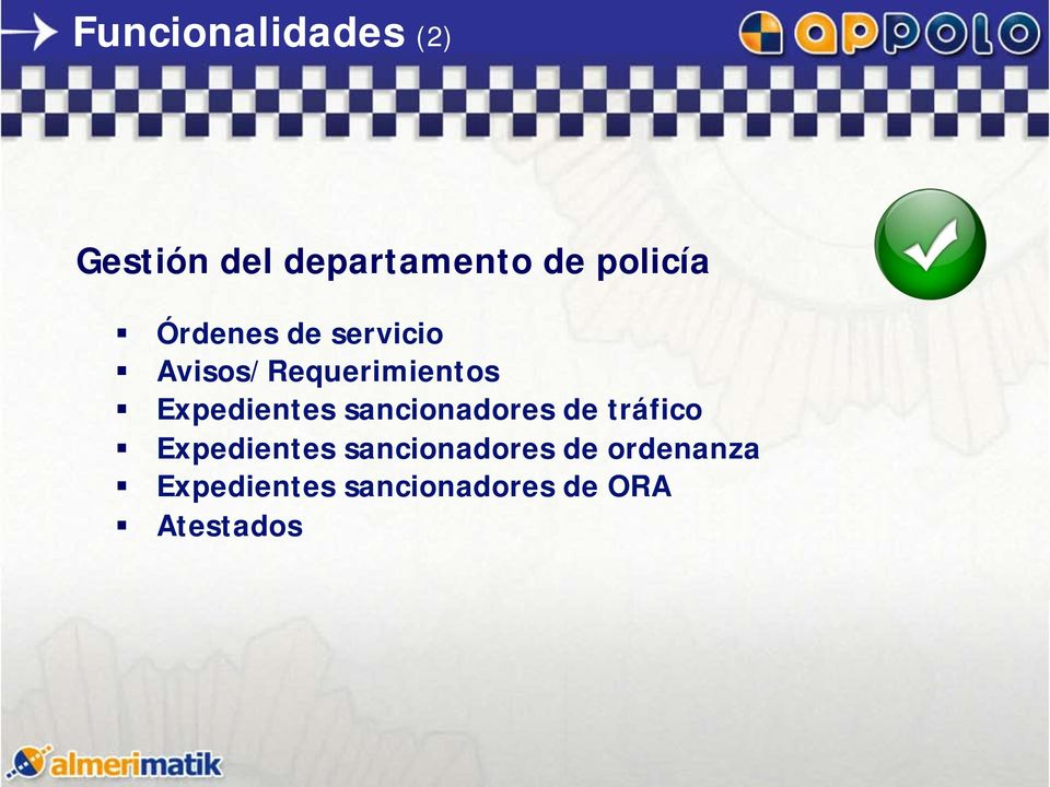 Expedientes sancionadores de tráfico Expedientes