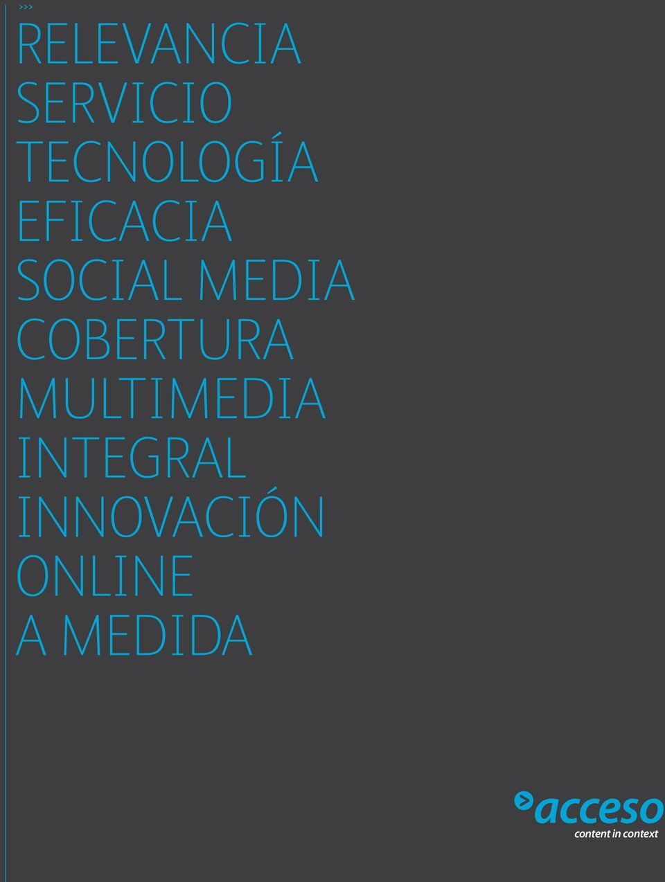MULTIMEDIA integral INNOVACIÓN