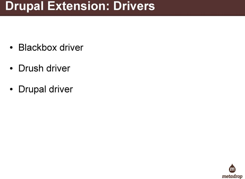 Drivers Blackbox