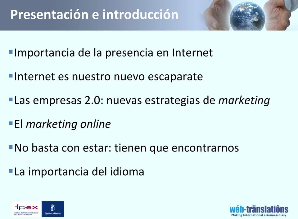 0: nuevas estrategias de marketing El marketing online No