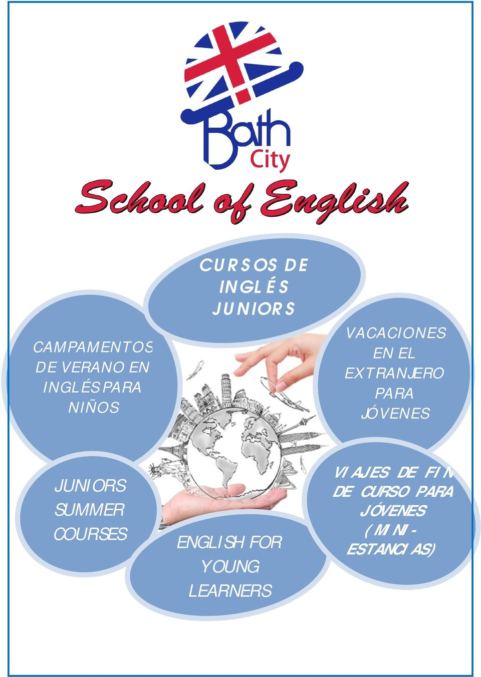 JÓVENES JUNIORS SUMMER COURSES ENGLISH FOR YOUNG