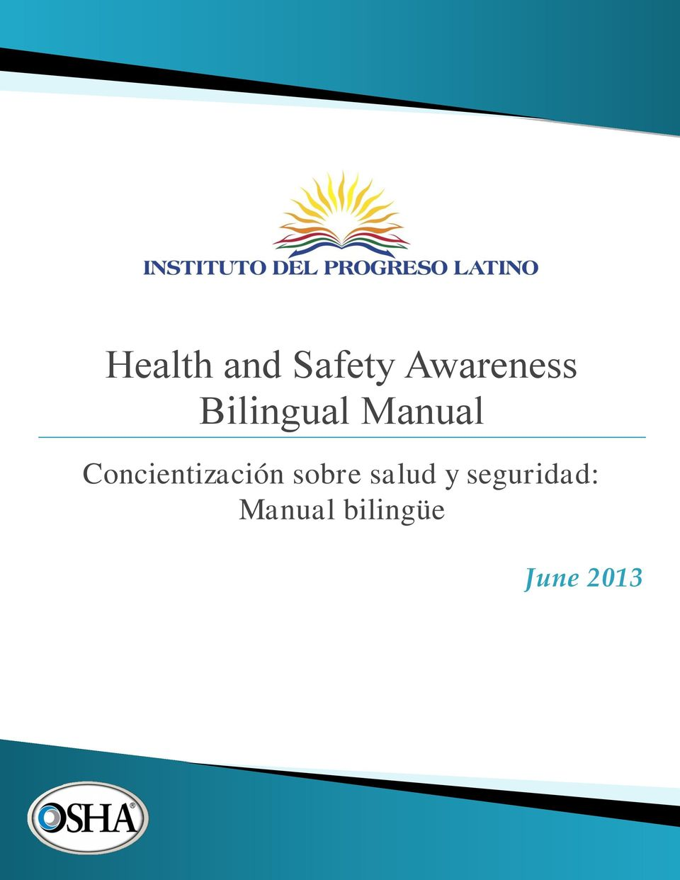 Bilingual Manual Concientización sobre