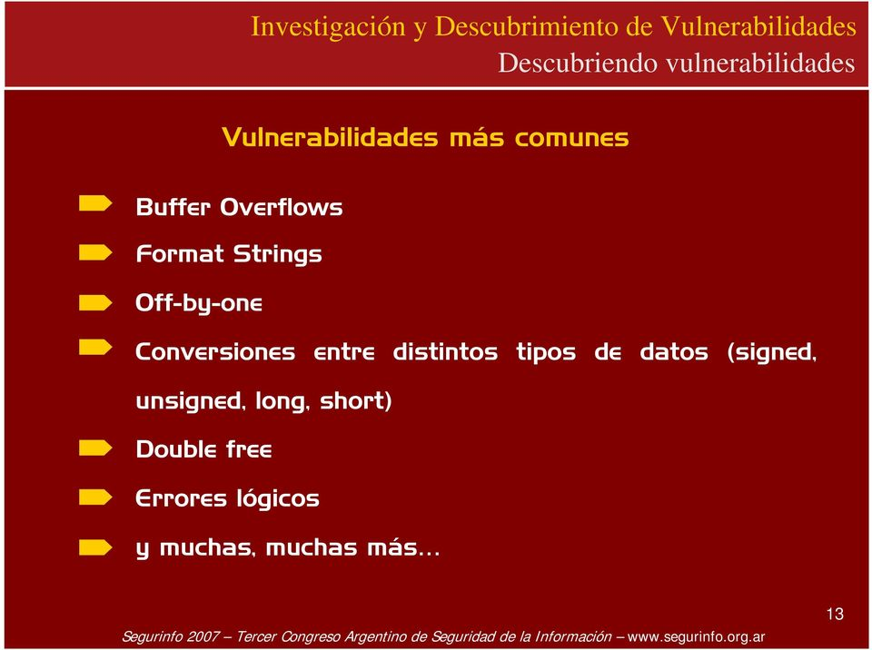 Conversiones entre distintos tipos de datos (signed,