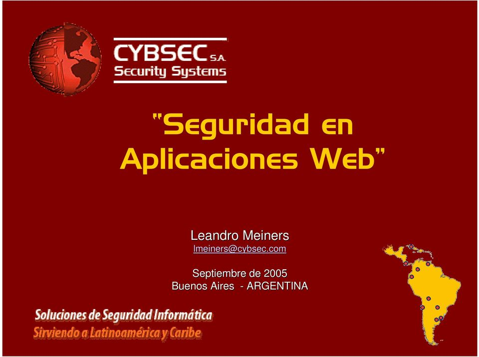 lmeiners@cybsec cybsec.