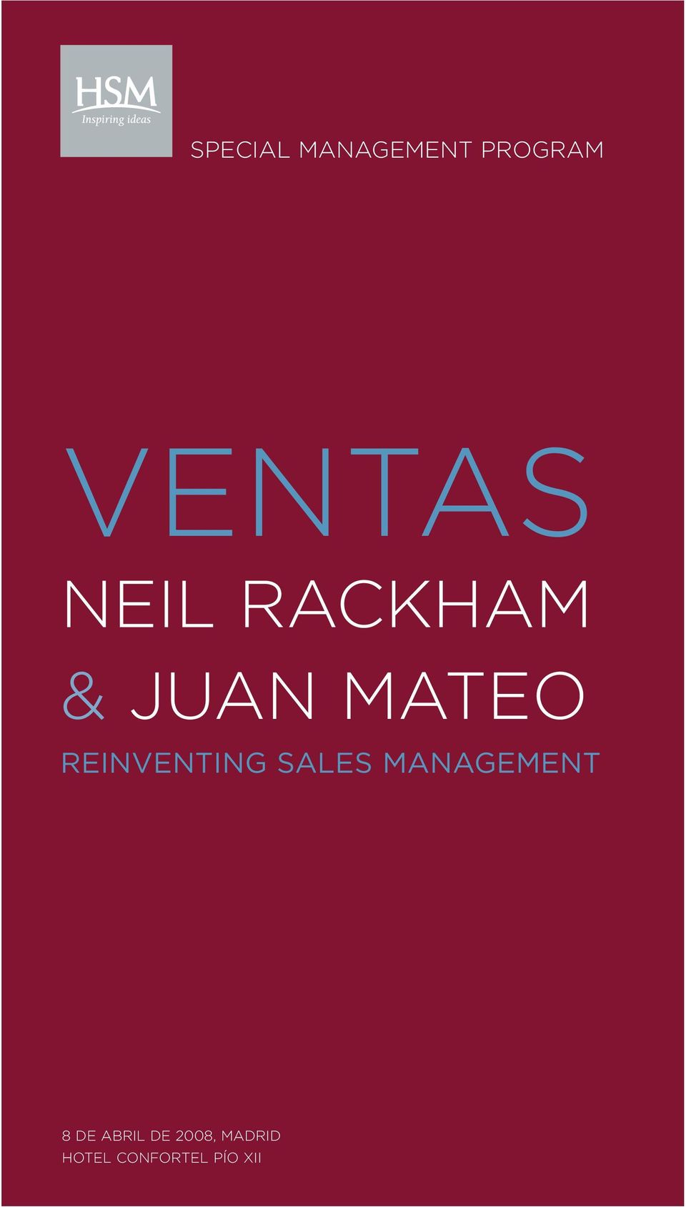 REINVENTING SALES MANAGEMENT 8 DE