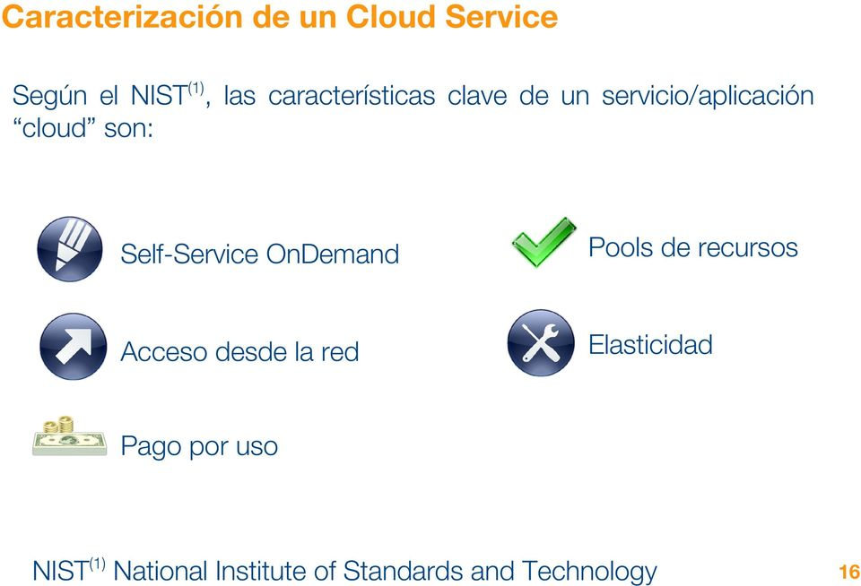 Self-Service OnDemand Pools de recursos Acceso desde la red