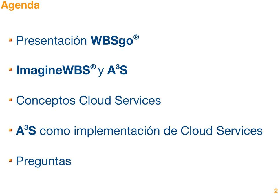 Cloud Services A3S como