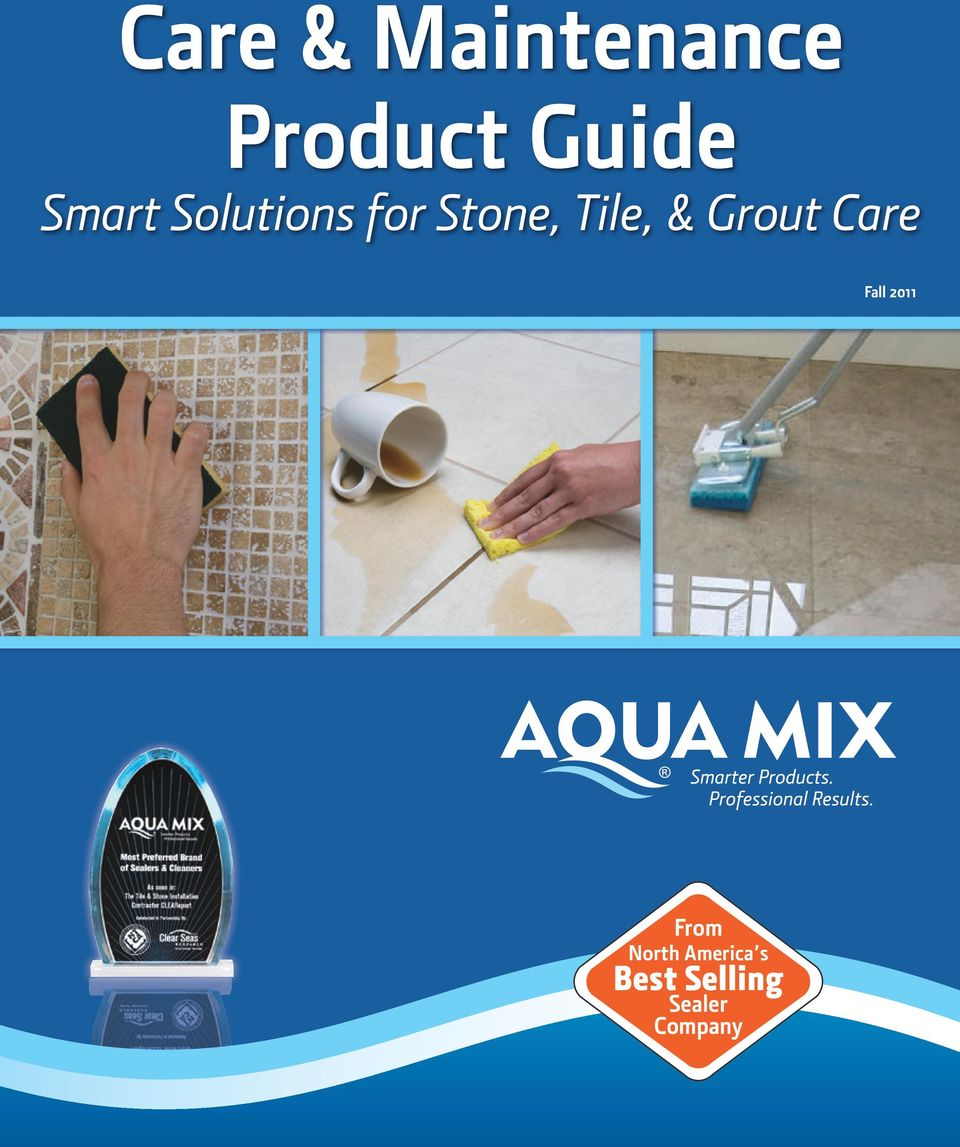 Grout Care Fall 2011 From North