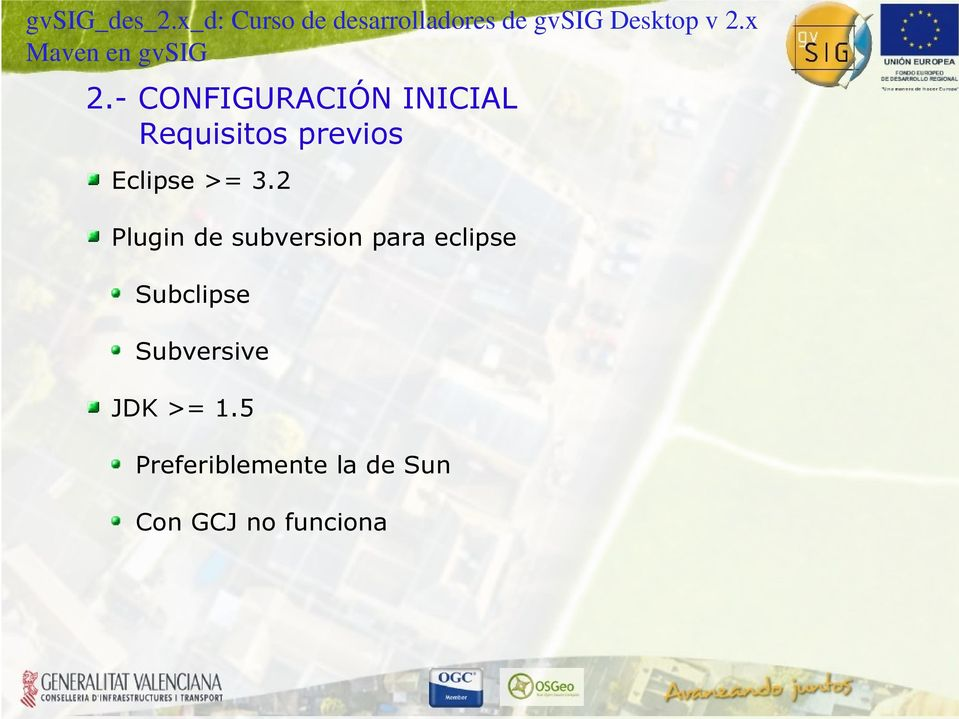 2 Plugin de subversion para eclipse