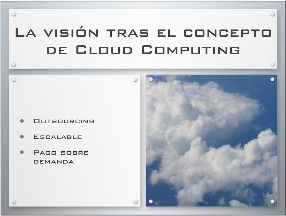 Computing Outsourcing