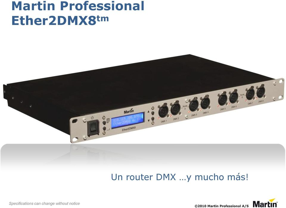Ether2DMX8 tm