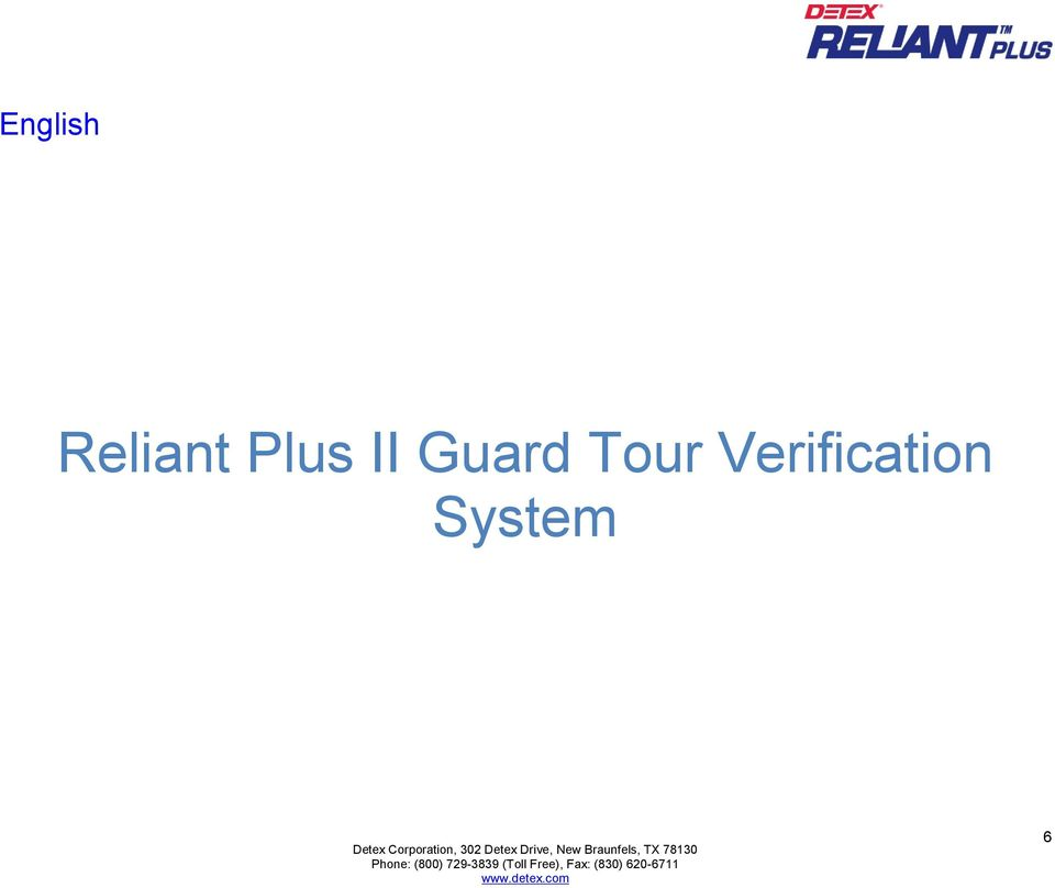 II Guard Tour