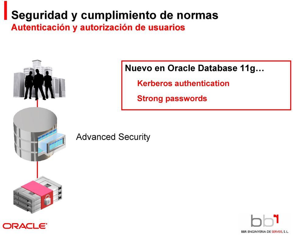 Nuevo en Oracle Database 11g Kerberos
