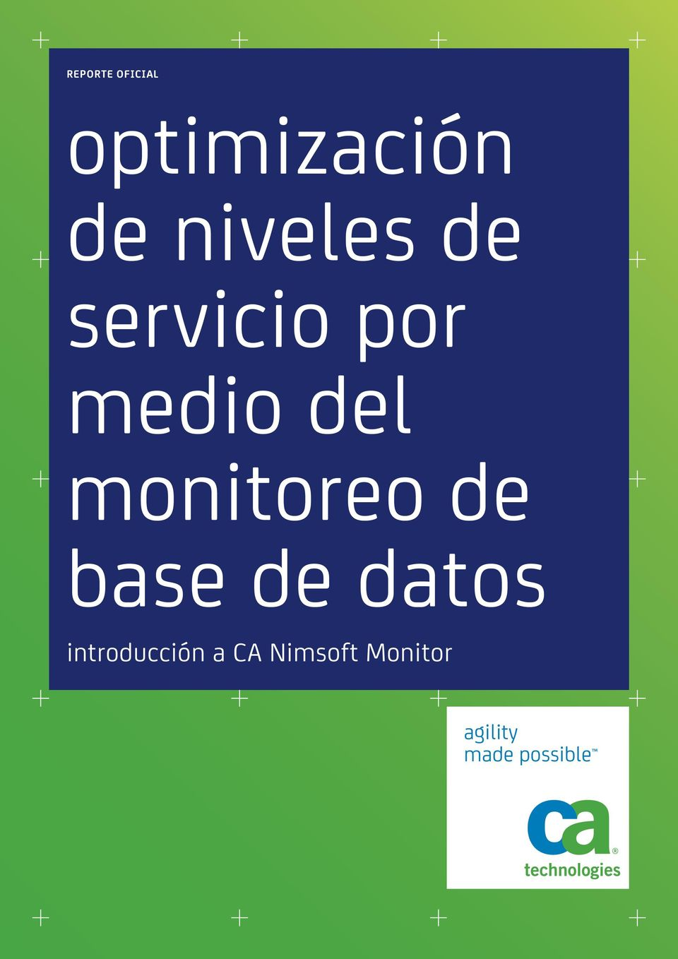 monitoreo de base de datos